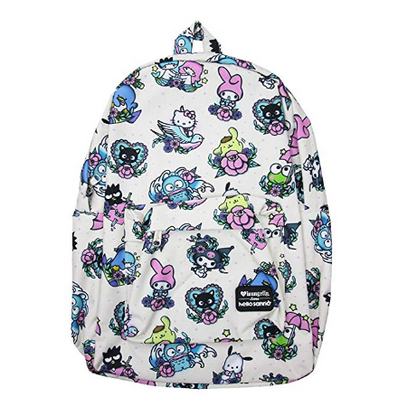 Loungefly X Hello Kitty Flash Tattoo Characters Backpack - Cobalt Heights