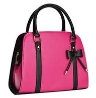 Jasmine Bow Handbag - Hot Pink - Cobalt Heights