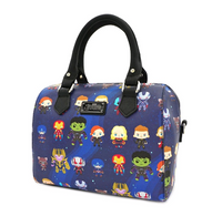 Loungefly X Marvel End Game Handbag - Cobalt Heights