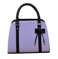 Jasmine Bow Handbag - Lilac - Cobalt Heights