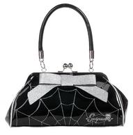 Sourpuss Floozy Spiderweb Purse - Silver - Cobalt Heights