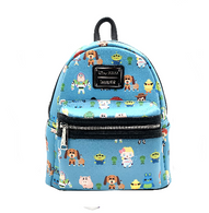 Loungefly X Pixar Toy Story Chibi Characters Mini Backpack - Cobalt Heights