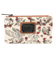 Loungefly X Harry Potter Wings And Flowers Bifold Wallet - Cobalt Heights