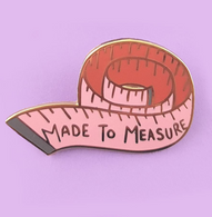 Jubly Umph Made To Measure Lapel Pin - Cobalt Heights