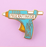 Jubly Umph Pro-Craftinator Lapel Pin - Cobalt Heights