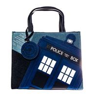 Loungefly X Dr Who Tardis Handbag - Cobalt Heights