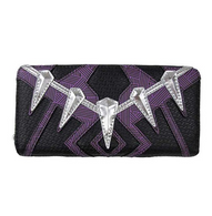Loungefly X Marvel Black Panther Cosplay Wallet - Cobalt Heights