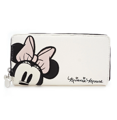Loungefly X Minnie Mouse Pastel Wallet - Cobalt Heights