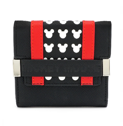 Loungefly X Disney Mickey Mouse Logo Small Wallet - Cobalt Heights