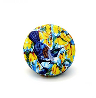 Kiwiana Tui and Kowhai Compact Mirror - Cobalt Heights