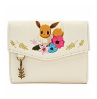 Loungefly X Pokemon Eevee Floral Small Wallet - Cobalt Heights