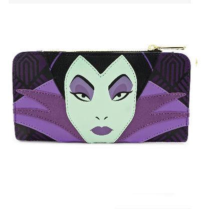 Loungefly X Disney Maleficent Face Wallet - Cobalt Heights