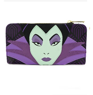 Loungefly X Disney Maleficent Face Wallet - Cobalt Heights