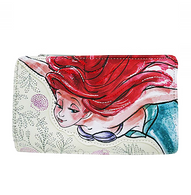Loungefly X Disney Ariel Bifold Wallet - Cobalt Heights