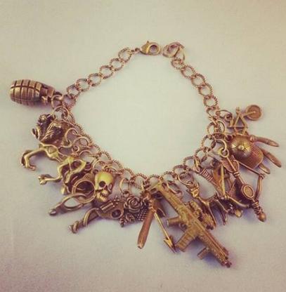 Bronze Handmade the Walking Dead Charm Bracelet 2.0 - Cobalt Heights