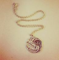 House Targaryen Inspired Necklace