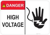 Danger High Voltage - #53-315 thru 70-315