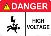 Danger Shocked Man, High Voltage #53-317 thru 70-317