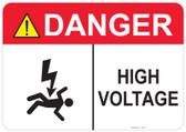 Danger Shocked Man, High Voltage #53-317 thru 70-317
