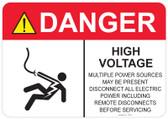 Danger Shocked Man, High Voltage #53-318 thru 70-318