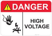 Danger Shocked Hand, Shocked Man, High Voltage #53-319 thru 70-319