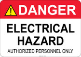 Danger Electrical Hazard #53-332 thru 70-332