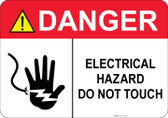Danger Electrical Hazard #53-333 thru 70-333