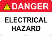 Danger Electrical Hazard #53-335 thru 70-335