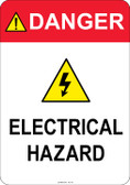 Danger Electrical Hazard, #53-337 thru 70-337