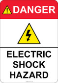 Danger Electrical Hazard, #53-344 thru 70-344