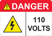 Danger 110 Volts - #53-431 thru 70-431