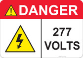 Danger 277 Volts - #53-433 thru 70-433