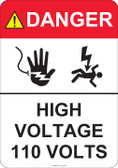 Danger High Voltage - #53-441 thru 70-441