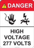 Danger High Voltage - #53-443 thru 70-443