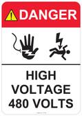 Danger High Voltage - #53-444 thru 70-444