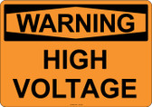 Warning High Voltage, #53-507 thru 70-507