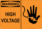 Warning High Voltage, #53-515 thru 70-515