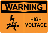 Warning High Voltage, #53-517 thru 70-517