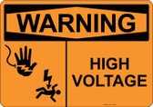 Warning High Voltage, #53-519 thru 70-519