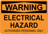 Warning Electrical Hazard, #53-532 thru 70-532