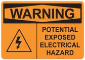 Warning Electrical Hazard, #53-534 thru 70-534
