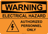 Warning Electrical Hazard, #53-536 thru 70-536