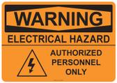 Warning Electrical Hazard, #53-536 thru 70-536