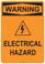 Warning Electrical Hazard, #53-537 thru 70-537