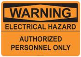 Warning Electrical Hazard, #53-538 thru 70-538