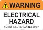 Warning Electrical Hazard #53-732 thru 70-732