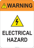 Warning Electrical Hazard #53-737 thru 70-737