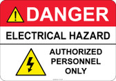 Danger Electrical Hazard #53-336 thru 70-336