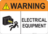 Warning Electrical Equipment #53-748 thru 70-748