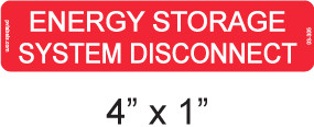 Energy Storage System Disconnect - Item #03-305